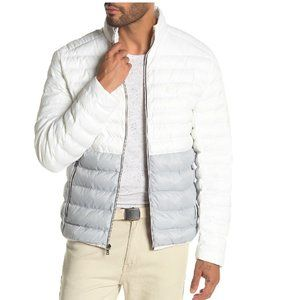 Michael Kors Two-Tone Quilted Puffer Jacket
